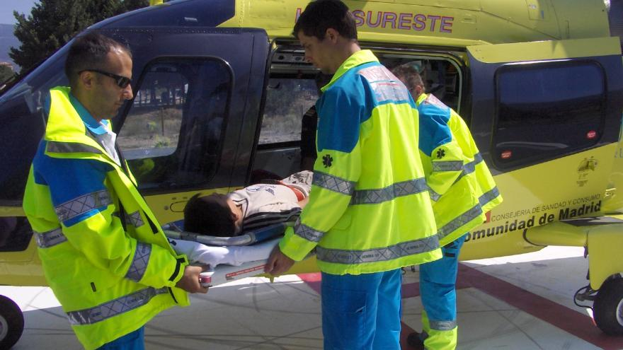 Técnico de emergencias de SUMMA 112