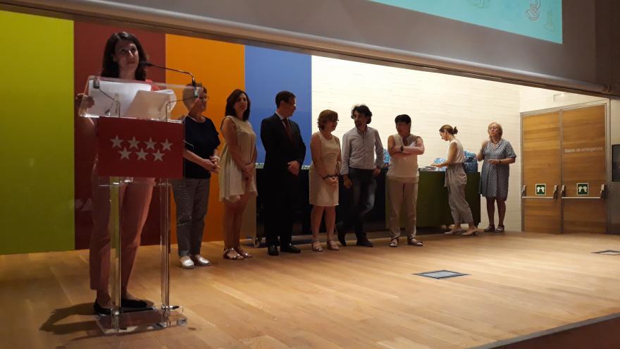 Entrega de premios V Certamen de Premios al Rendimiento Académico
