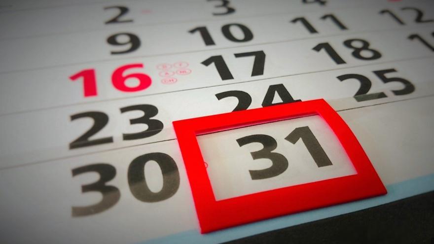 Hoja de calendario