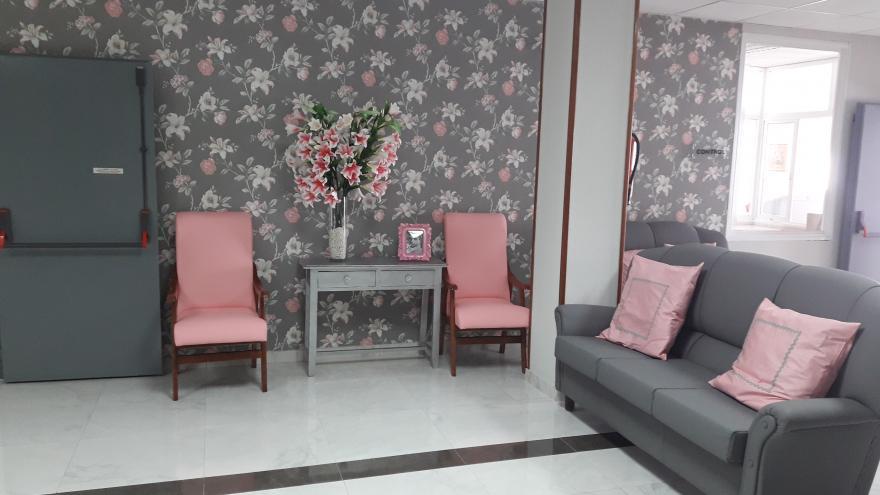 Interior residencia de personas mayores