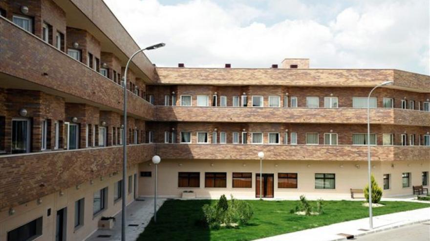 Exterior residencia personas mayores