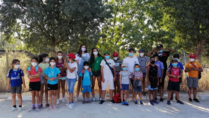 Visita de menores tutelados El Campillo en Rivas-Vaciamadrid