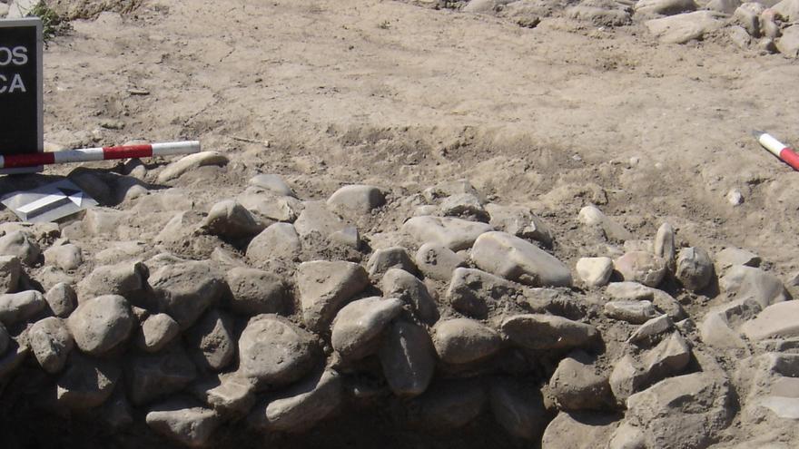 Imagen de excavación calle Peligros