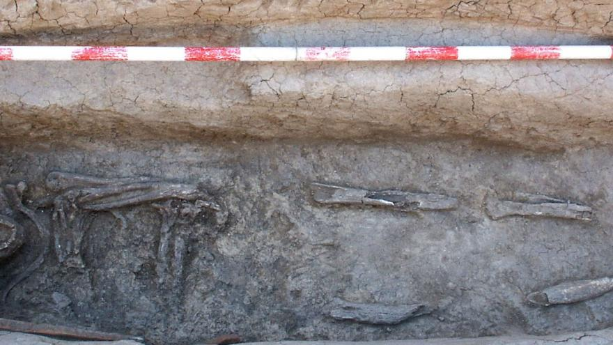 Imagen de Inhumación en La Necrópolis Tardorromana de Móstoles