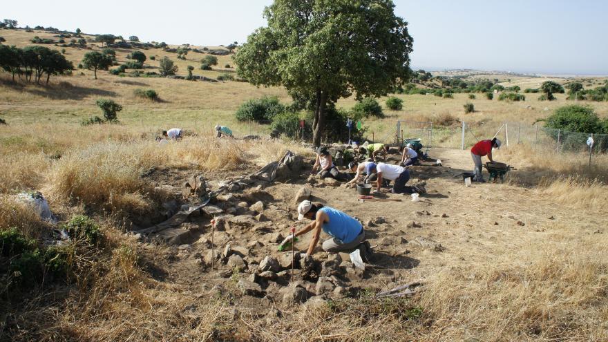 Excavación arqueológica de Navalahija