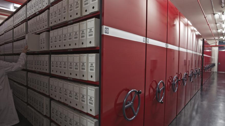 Depósitos en el Archivo Regional