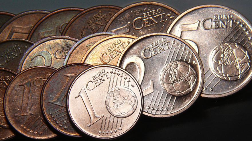 Céntimos de euro.