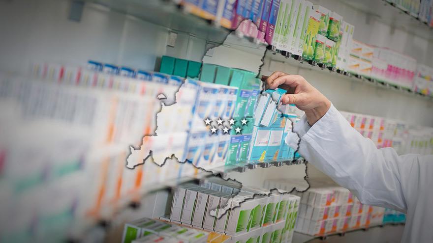 Visor de farmacias en la Comunidad de Madrid