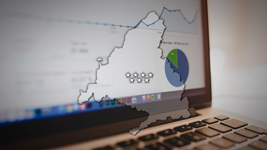 Visor geográfico de datos abiertos