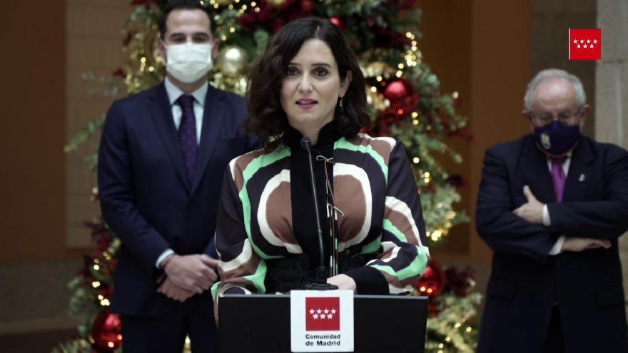 Inauguración Belen Casa Real de Correos 2 de diciembre de 2020