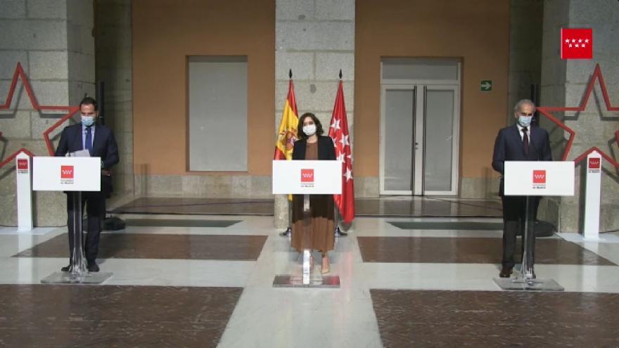 Rueda de prensa Díaz Ayuso