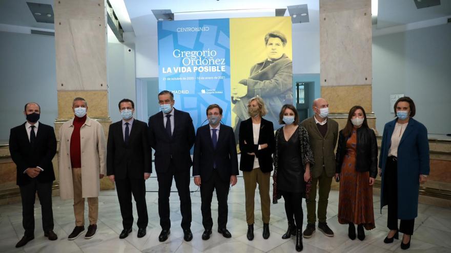 Exposición dedicada a Gregorio Ordóñez