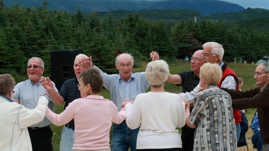 Grupo personas mayores