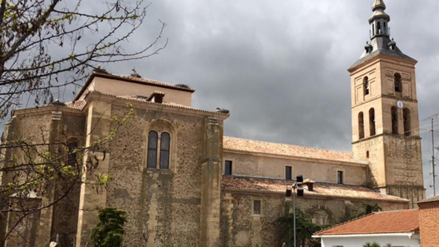 Iglesia parroquial de Fuente el Saz