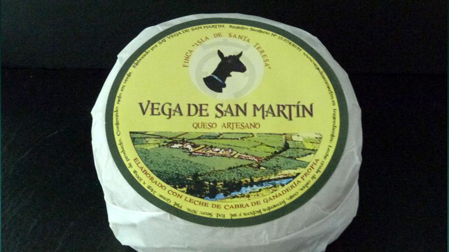 Fotografía de un queso Madurado de San Martín