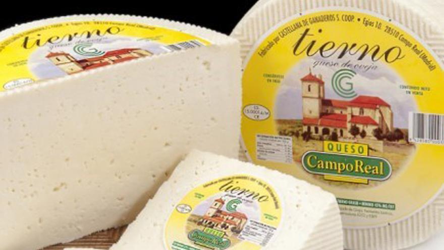 Fotografía de quesos de Campo Real tierno de oveja