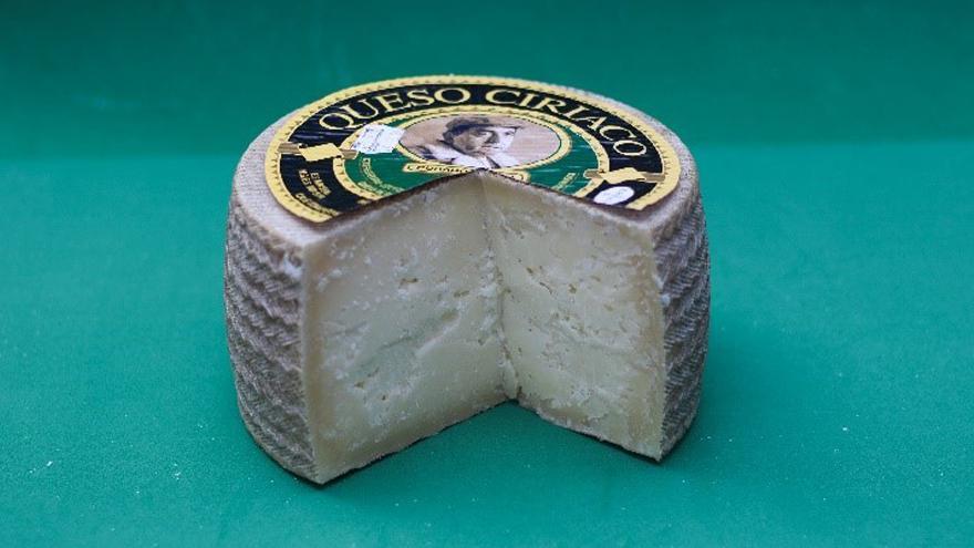 Fotografía de un queso Ciriaco Curado