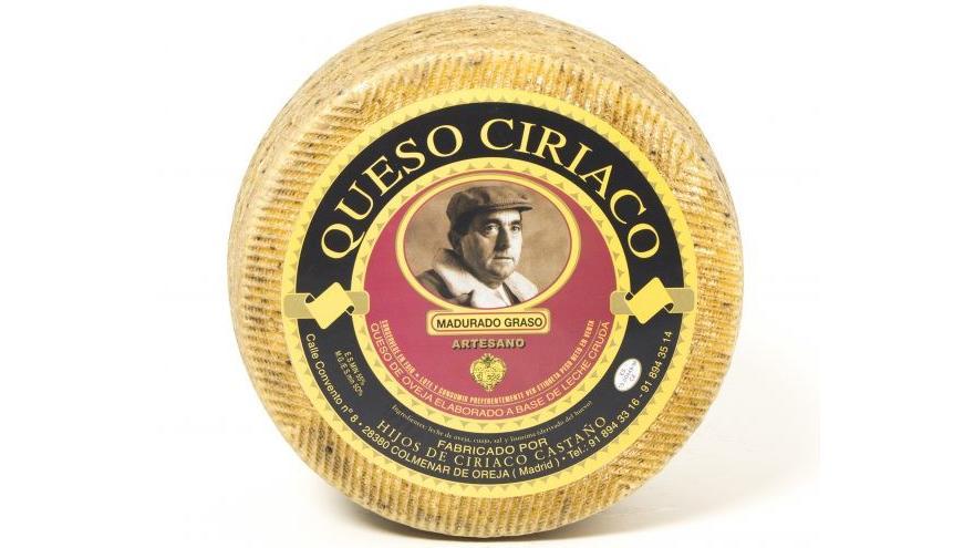 Fotografía de un queso Ciriaco Semicurado