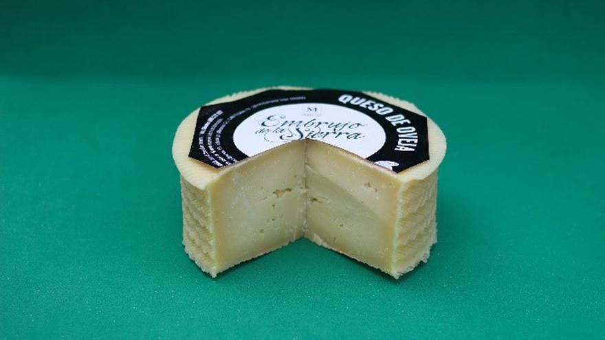 Fotografía de un queso Embrujo de la Sierra Semicurado