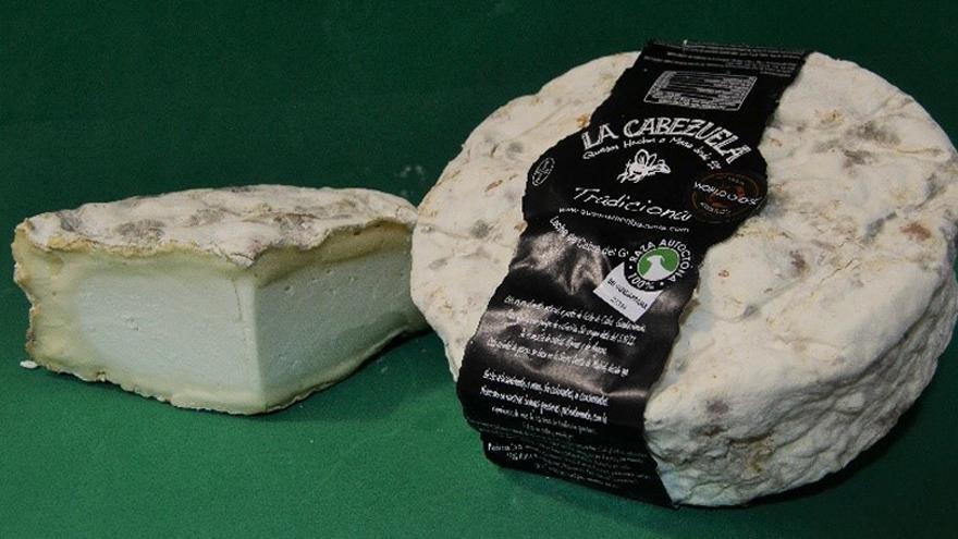 Fotografía de quesos La Cabezuela Tradicional