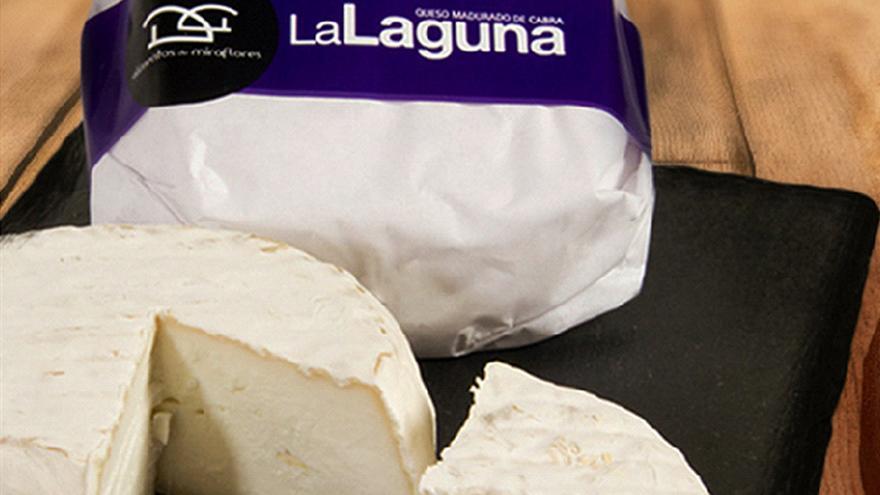 Fotografía de quesos La Laguna de cabra