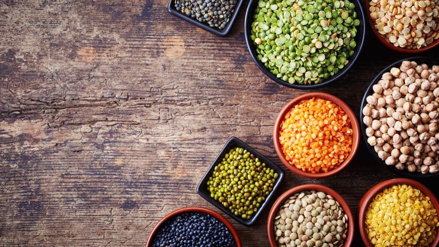 Legumbres y dieta mediterránea
