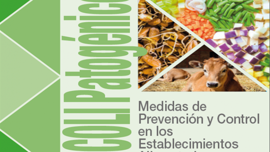Portada del folleto sobre E.coli patogénico