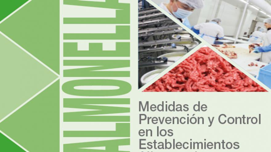 Portada del folleto sobre Salmonella