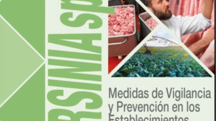 Portada del folleto de Yersinia spp.