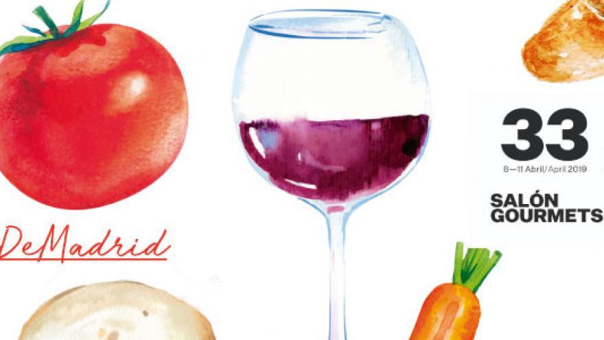 Imagen y slogan identificativos del Salón Gourmets 2019