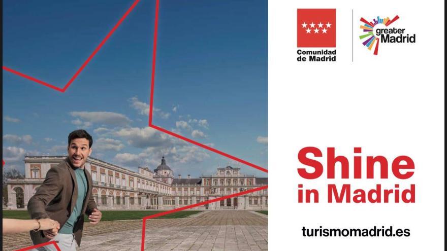 Cartel promocional de la Comunidad de Madrid
