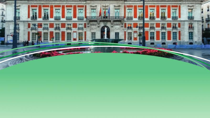 Portada del Plan Energético de la Comunidad de Madrid