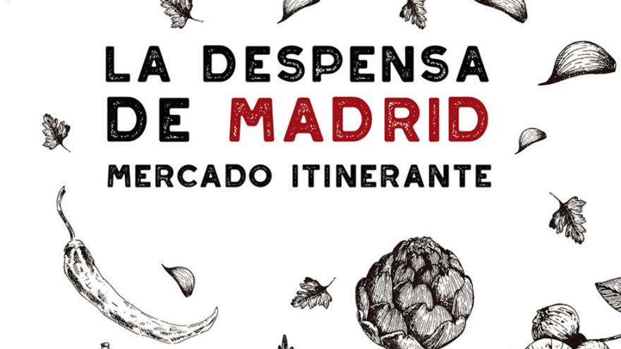 Detalle del cartel La Despensa de Madrid