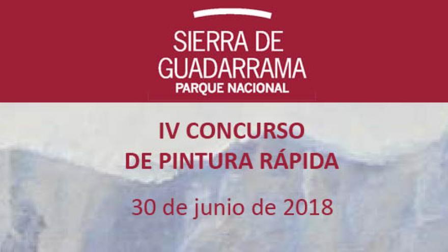 IV Concurso de Pintura rápida del Parque Nacional de la Sierra de Guadarrama