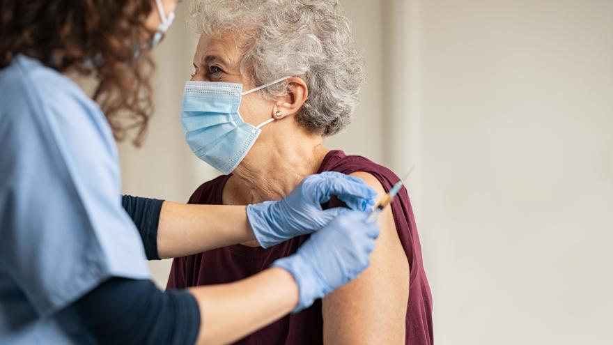 Vacunación covid mayor