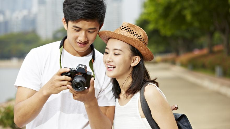 Imagen turistas chinos