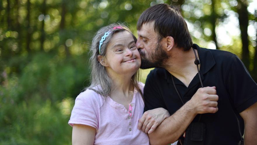 Una pareja con síndrome de Down