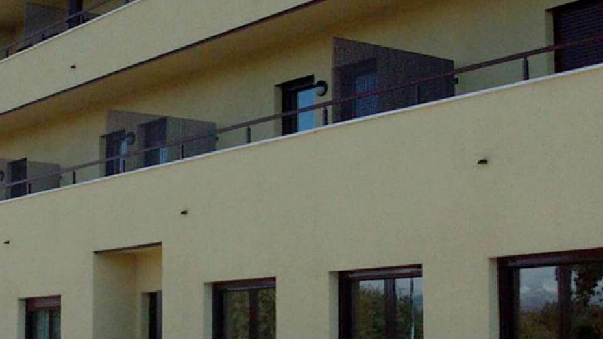 Fachada de la Mini Residencia AFAP Pedrezuela para personas con enfermedad mental