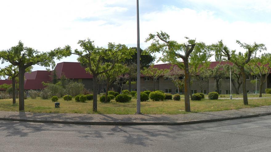 Exterior del hospital Virgen de la Poveda