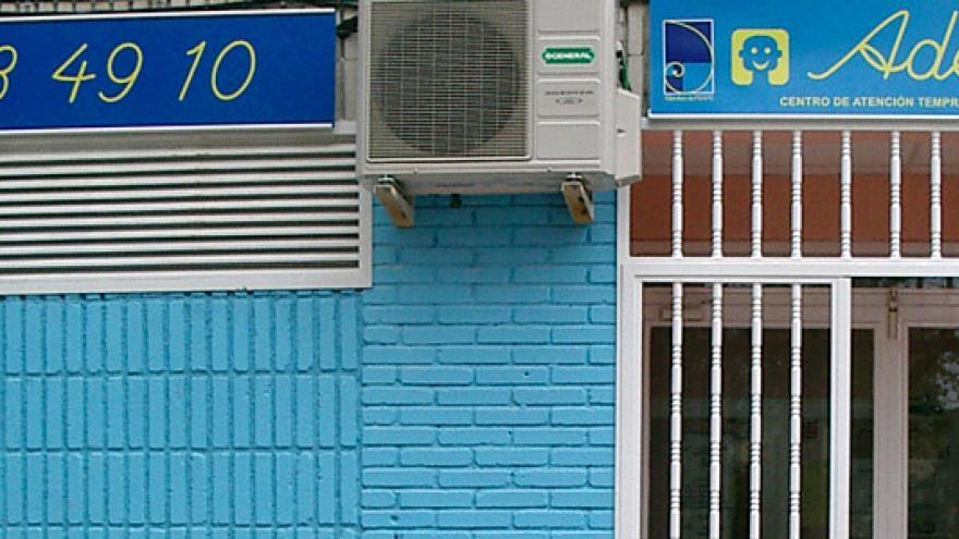 Fachada del Centro de Atención Temprana (CAT) ADEMPA