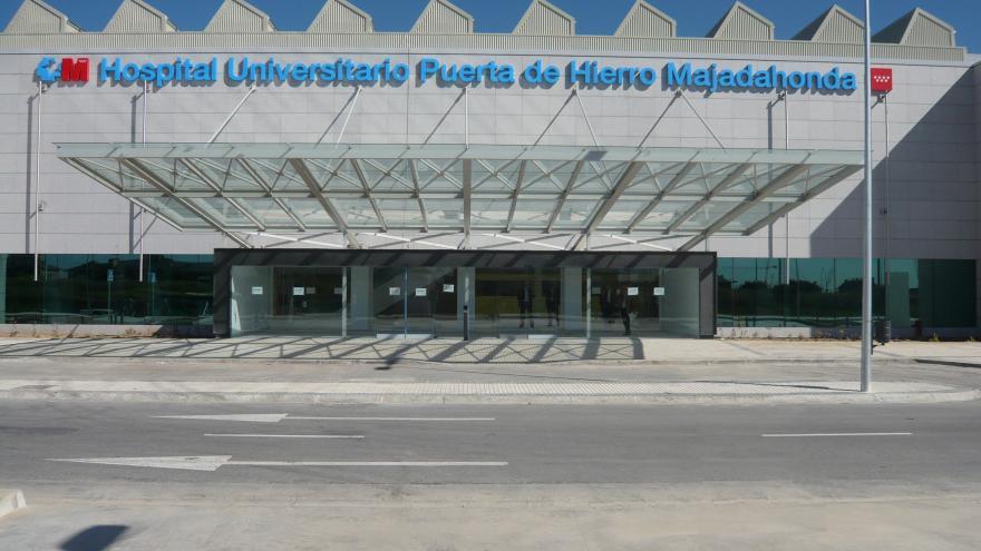 Fachada del Hospital Puerta de Hierro