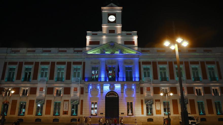 La Comunidad de Madrid ilumina con los colores de la bandera de Brasil la Real Casa de Correos en su Día Nacional