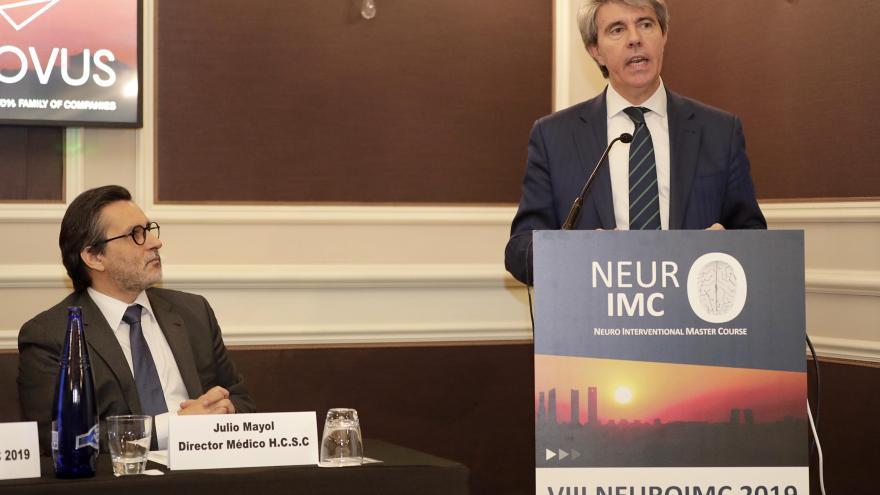 Garrido anuncia un nuevo punto de Atención Continuada para ictus en el Hospital Gregorio Marañón, el tercero de la región