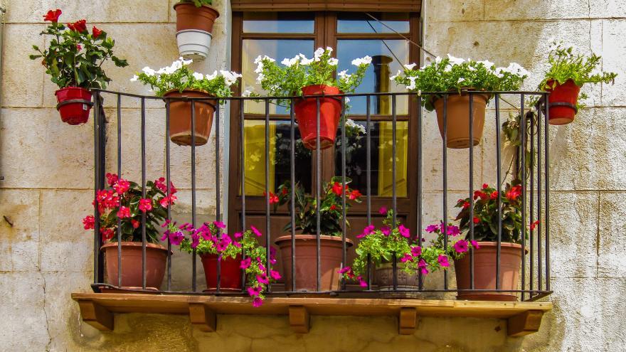 Imagen de un balcon