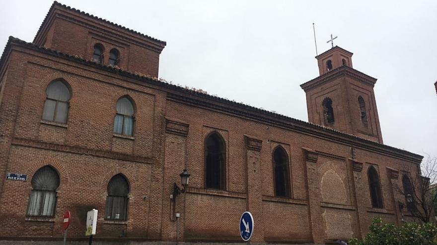 Vista de la iglesia parroquial de San Matías
