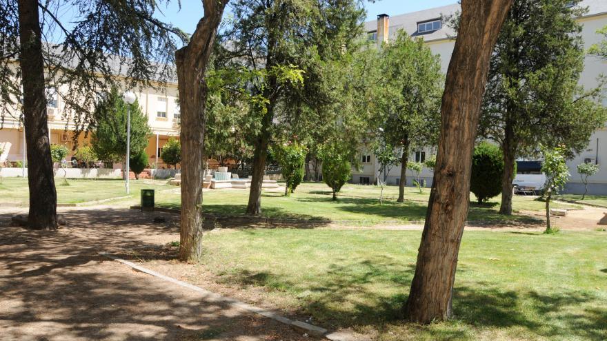Jardín interior RM Gran Residencia
