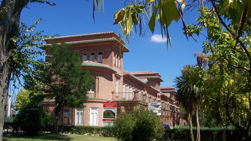 Fachada del hospital de Cantoblanco