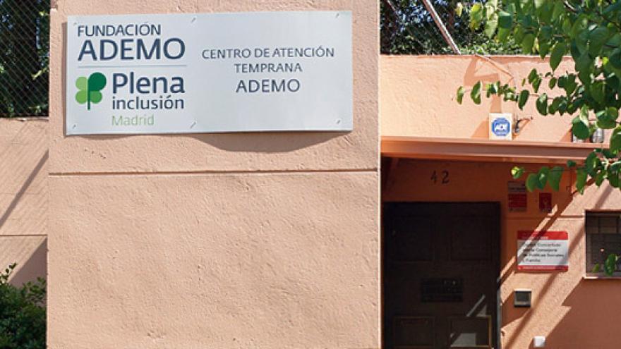 Fachada del Centro de Atención Temprana (CAT) ADEMO