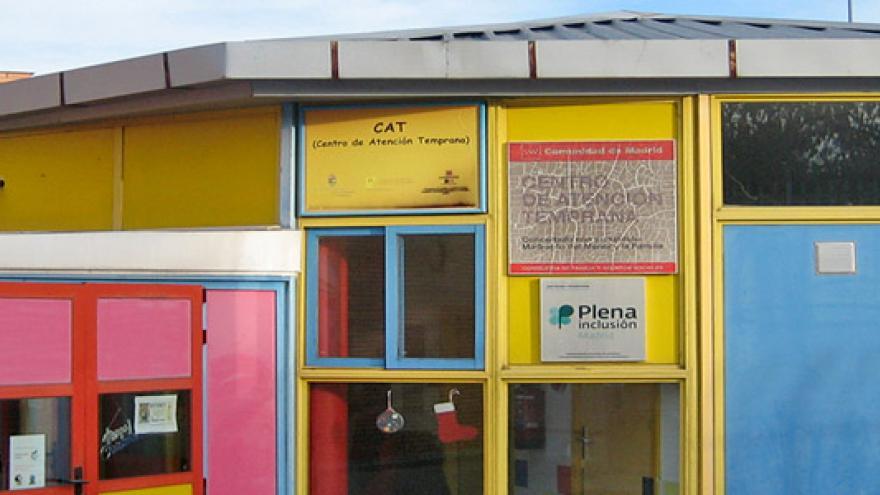 Fachada del Centro Municipal de Atención Temprana (CAT) Mario Benedetti de San Fernando de Henares