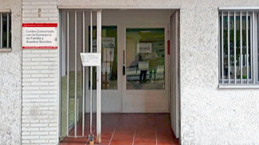 Fachada del Centro de Día de Soporte Social (CD) Arganzuela